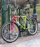 colourful bike poster