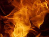 fire abstract poster