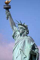 upper liberty statue