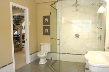 batroom shower