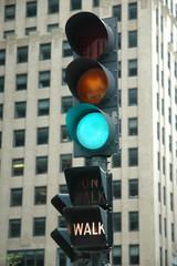 green light - walk