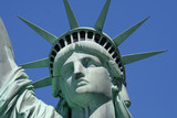 Fototapety statue of liberty close up
