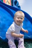 sliding toddler poster