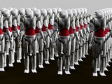 robot army poster