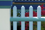 cape may bed and breakfast fence poster