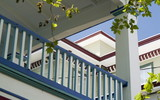 cape may bed and breakfast veranda poster