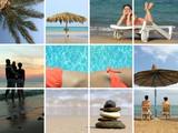 beach collage - Fine Art prints