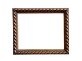 antique photo frame poster