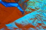 colour foil background poster