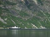 small norwegian ferry poster