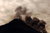indonesia, java: merapi eruption, may 2006 poster