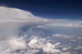 storm clouds landscape poster