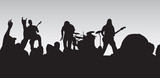 rock concert 4 poster
