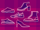 ladies shoes poster