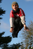 jumping expression poster
