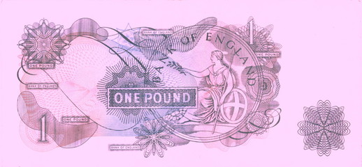 pink pound (reverse)