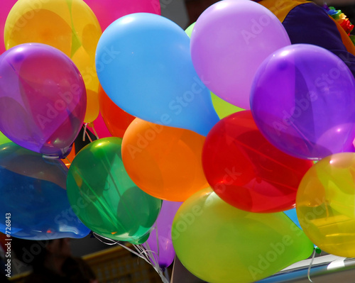 canvas print picture colorful balloons