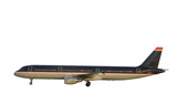 passenger airplane poster