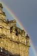 edinburgh, rainbow after rain