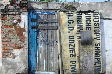 a door to nowhere