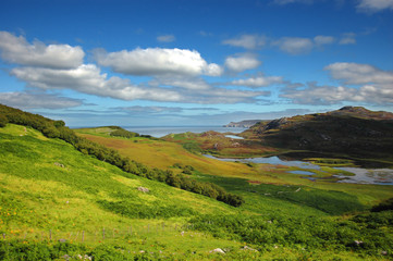 kyle of durness view