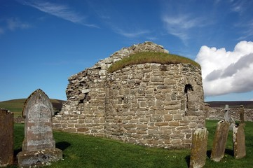 round church of orphir, orkney's