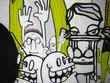 Quadro graffiti - helmi freaks