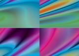 color textile poster