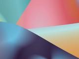 rainbow paper poster