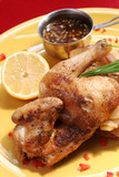 fired chicken poster