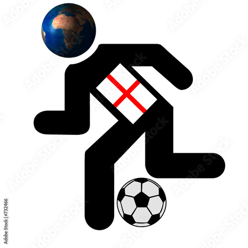football running man image , england