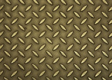 abstract metal pattern poster