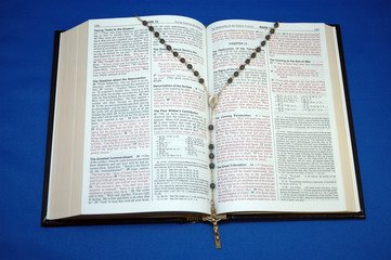 holy bible and rosary 2