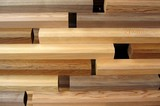 abstract wood pattern poster