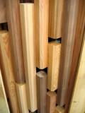 wood pattern design poster