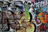 Fototapety london urban graffiti 2