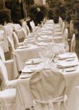 Fototapety wedding table03