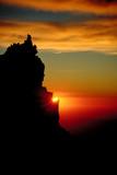 sonnenuntergang im himalaya 1 poster