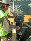 plumbing pressure test, poster