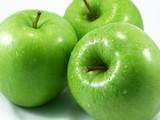 manzanas verdes poster