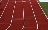 straight running track poster