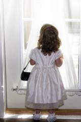 little girl in windowlight