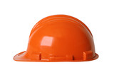 hard hat with path poster