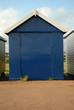blue hut