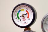 pressure gauge(bourdon gauge) poster