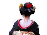 geisha neck poster