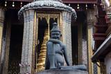 hermit doctor - grand palace, bangkok poster