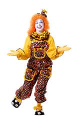 dancing clown