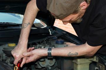 car mechanic.