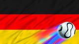 german world cup flag poster